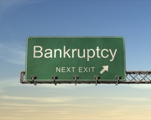 "Bankruptcy Sign"" height="